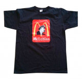 T-shirt L McLenin's, black, L