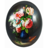 Lacquer Box Fedoskino Roses