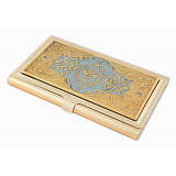 Products Zlatoust souvenir business card holder, symbolism FSB