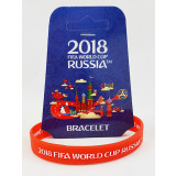 The world Cup 2018 bracelet red, rubber