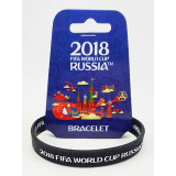The world Cup 2018 bracelet black, rubber