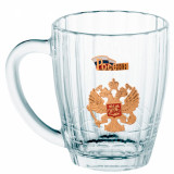 Ware beer mug, coat of Arms of Russia