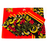 Textiles kitchen set Khokhloma, tablecloth + napkins 6 Pss.