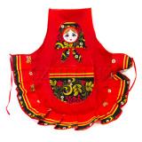 Textiles apron Khokhloma