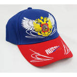 Headdress Baseball cap Russia, Russian coat of Arms, wings, blue...