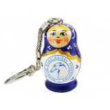 Nesting doll by customer specification key ring-matryoshka doll...