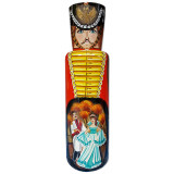 Nesting doll Case for bottle The hussar,  0,7 l