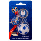 The world Cup 2018 keyring, Clogging