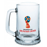 The world Cup 2018 2018 world Cup glass Mug for beer Emblem, 500 ml.