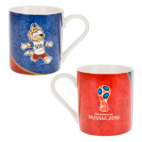 The world Cup 2018 Mug ceramic Clogging, world Cup 2018, 480 ml.