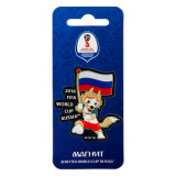 The world Cup 2018 World Cup 2018 Magnet Zabivali, flag, PVC
