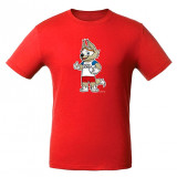 The world Cup 2018 2018 world Cup t-Shirt with symbols, red, XXL