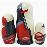 Nesting doll by customer specification 1 mesto, futljar, h-25 sm...