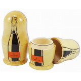 Nesting doll by customer specification 1 pcs, Veuve Cliequot