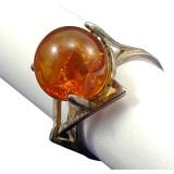 Amber ring 4274
