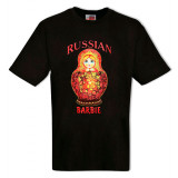 T-shirt XL female, Russian Barbie, XL