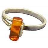 Amber ring R 0105-1