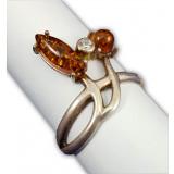 Amber ring Bunny