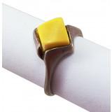 Amber ring 6183