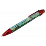 Pen 464-17-R souvenir Moscow the Panorama red