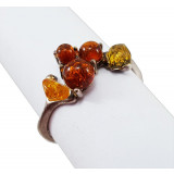 Amber ring Grape