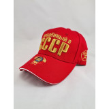 Headdress Baseball cap The coat of arms of the USSR, the red