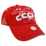 Headdress Baseball cap USSR, red