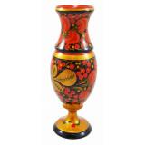 Khokhloma gift Vase narrow, 23