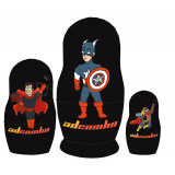 Nesting doll by customer specification 1 place (box) 15 cm, Character