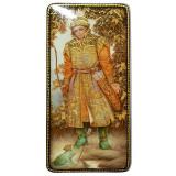 Lacquer Box Fedoskino Prince Ivan and Princess Frog