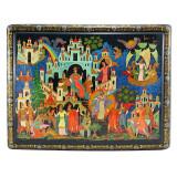 Lacquer Box Palekh The tale of Tsar Saltan