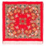 Pavlovo Posad Shawl Pavlovo Posad silk lace, fringe 1736-5,...