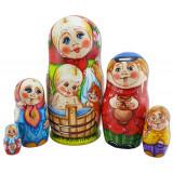 Nesting doll copyright 5 pcs, Tatyana Morozova