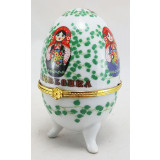 Easter egg porcelain matrioshkas, big