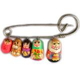 Brooch pin family