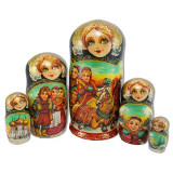 Nesting doll copyright Winter's top three 5 places, Samsonov