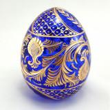 Easter egg glass Large