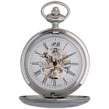 Watches pocket skeleton, Russian time, 2131879