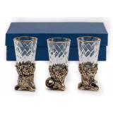 """Business souvenir glasses Changeling """"the Hunt"""" 3 piece"""