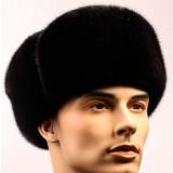 Headdress fur hat Fur of the tsigal sheep, fur grey in assortment...