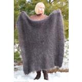 Pavlovo Posad Shawl Downy shawl handmade downy, gray, 1.30