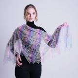 Pavlovo Posad Shawl Downy shawl handmade down openwork stole,...