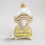 Copy Of Faberge VS-G021M vertical music box, goose shell