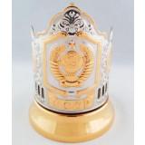 Cup holder Soviet Union, copper