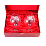 Gift engraved Gifts for men A set of wine glasses for brandy 9570