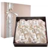 Gift engraved Wedding glasses 9734