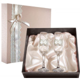 Gift engraved Wedding glasses 9740