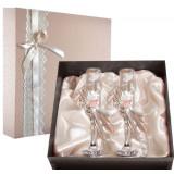 Gift engraved Wedding glasses 9742