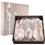 Gift engraved Wedding glasses 9744