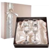 Gift engraved Wedding glasses 9747